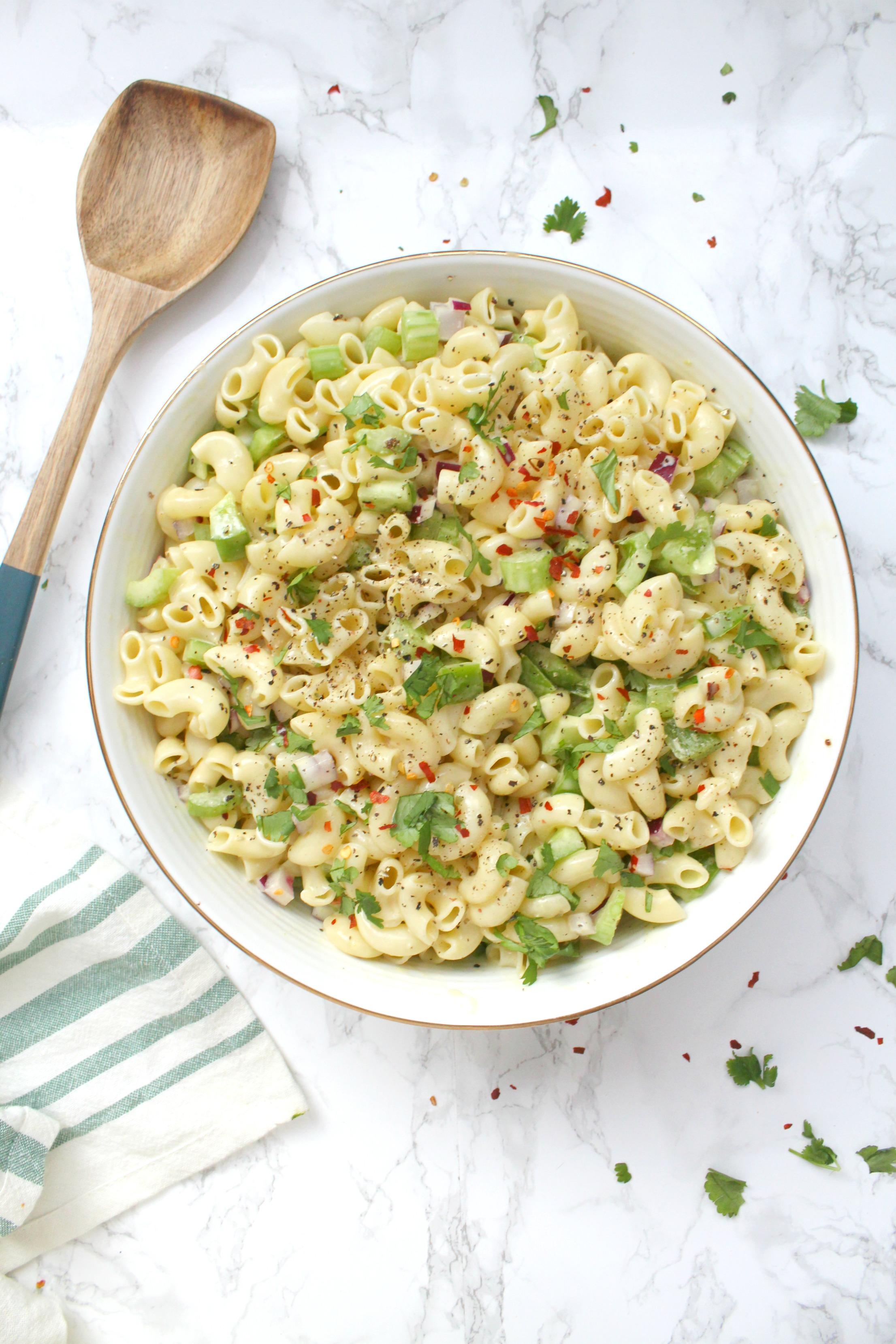 Macaroni Salad Recipe Vegan