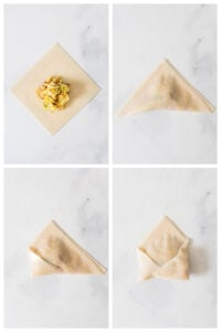 These Mushroom & Cabbage Dumplings are easy to make and beyond delicious. Served up with the best spicy Sichuan peppercorns sauce | ThisSavoryVegan.com #thissavoryvegan #vegandumplings #mushroomdumplings